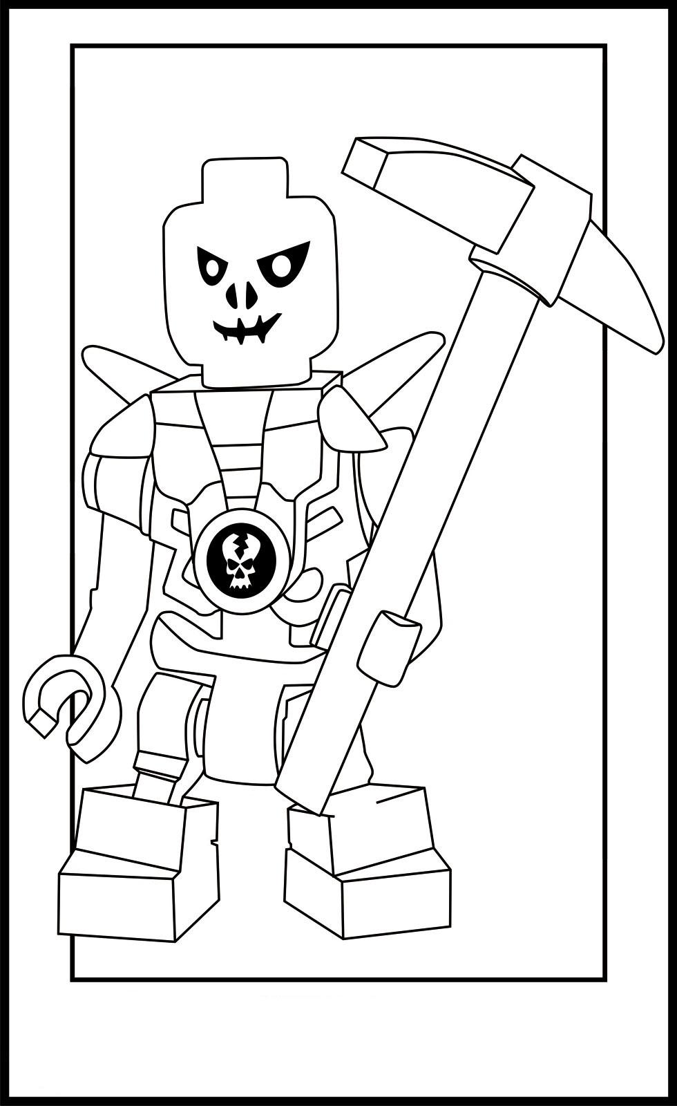 new ninjago coloring pages - photo#36
