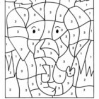 Number Coloring Pages (16)