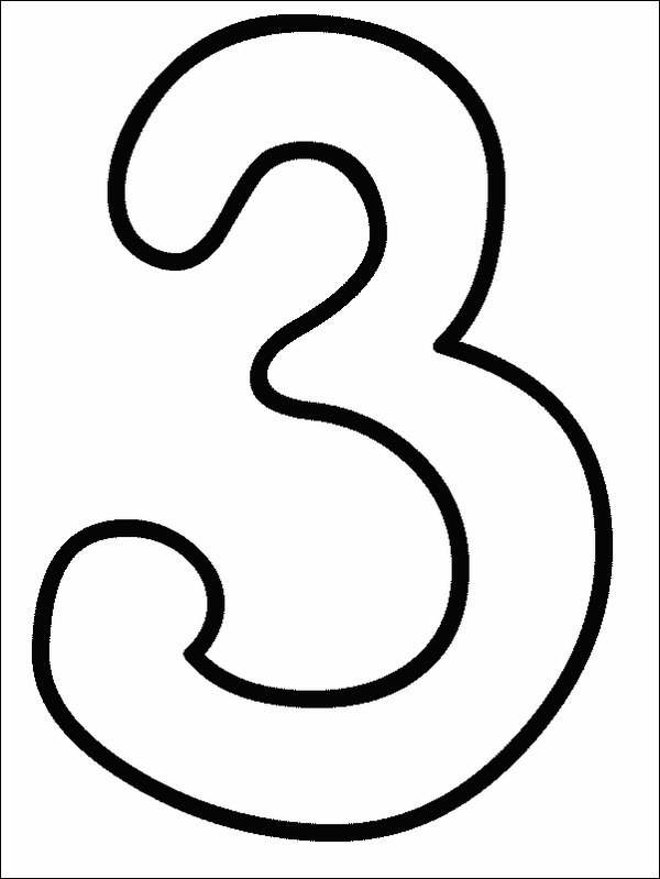 Number Coloring Pages 2 Coloring Kids