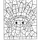 Number Coloring Pages (8)