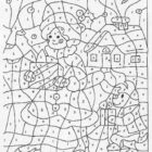 Number Coloring Pages (9)
