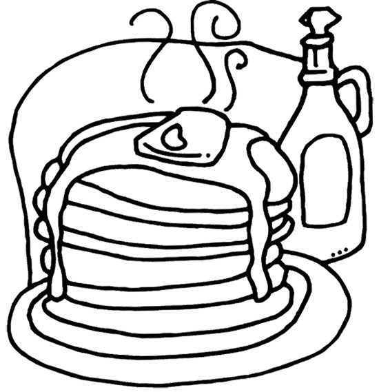 Pancake day (shrove Tuesday) colouring in picture! Hundreds more free  activities at iChild.co.uk | Pancake day, Pancake day crafts, Pancake  tuesday | 569x550