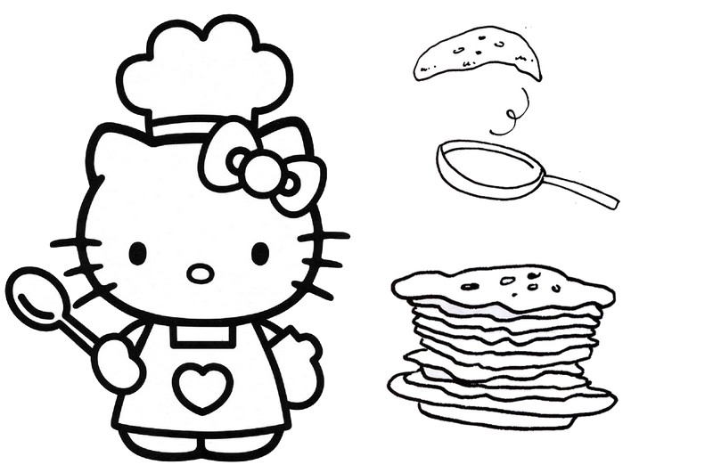 runaway pancake coloring page printable coloring pages