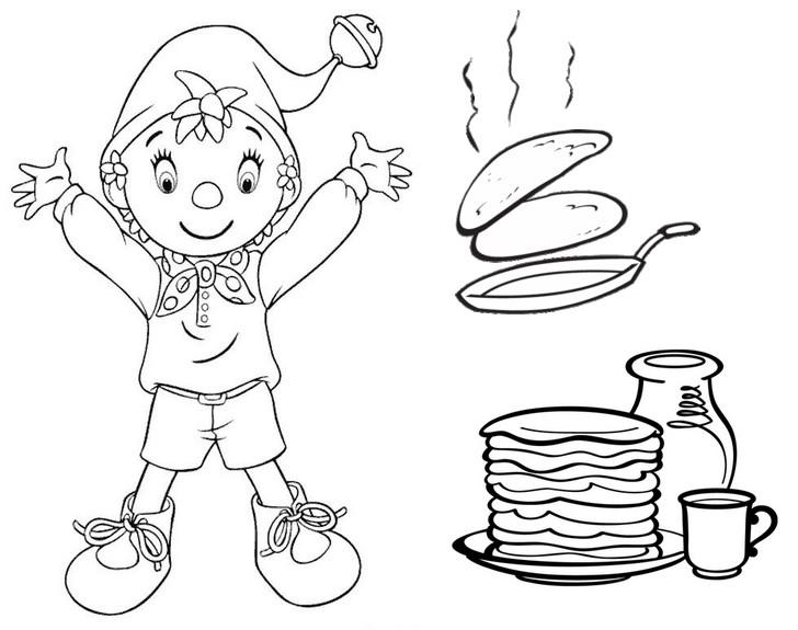 PancakeDayColoringPages18  Coloring Kids