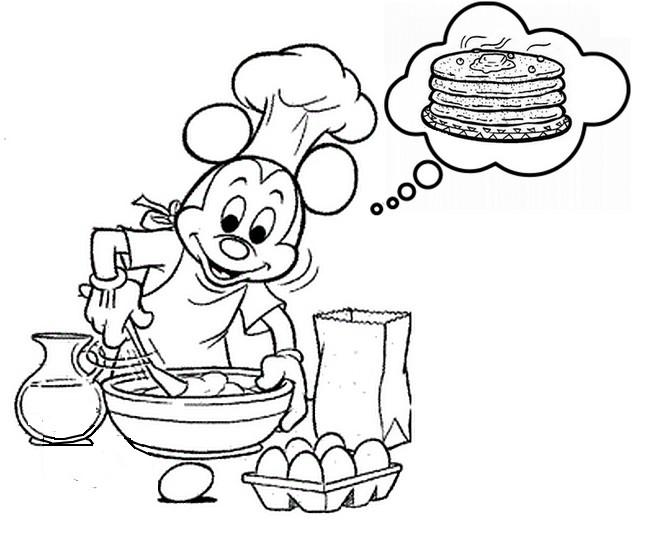 PancakeDayColoringPages20  Coloring Kids