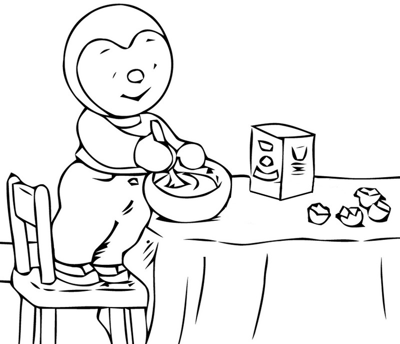 printable pancake day coloring pages - photo#41