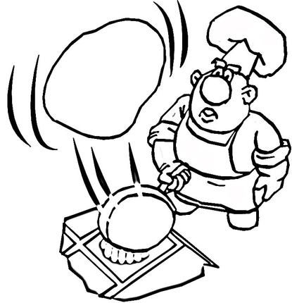 printable pancake day coloring pages - photo#42