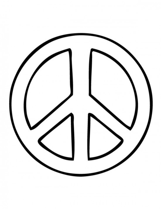 download peace coloring pages 12 - All Coloring Pages