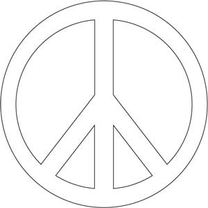 Peace coloring pages 14 coloring kids - Dessin peace and love ...