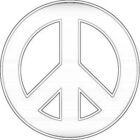 peace coloring pages 8 140x140 Peace Coloring Pages