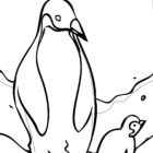 Penguin Coloring Pages (4)
