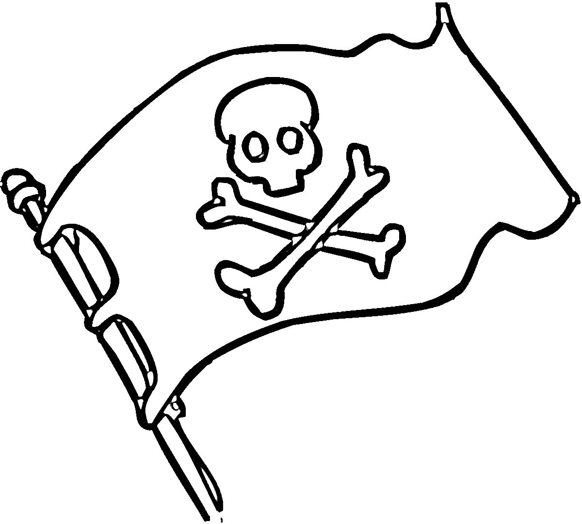 Pirate flag coloring pages – Coloring Pages & Pictures – IMAGIXS …