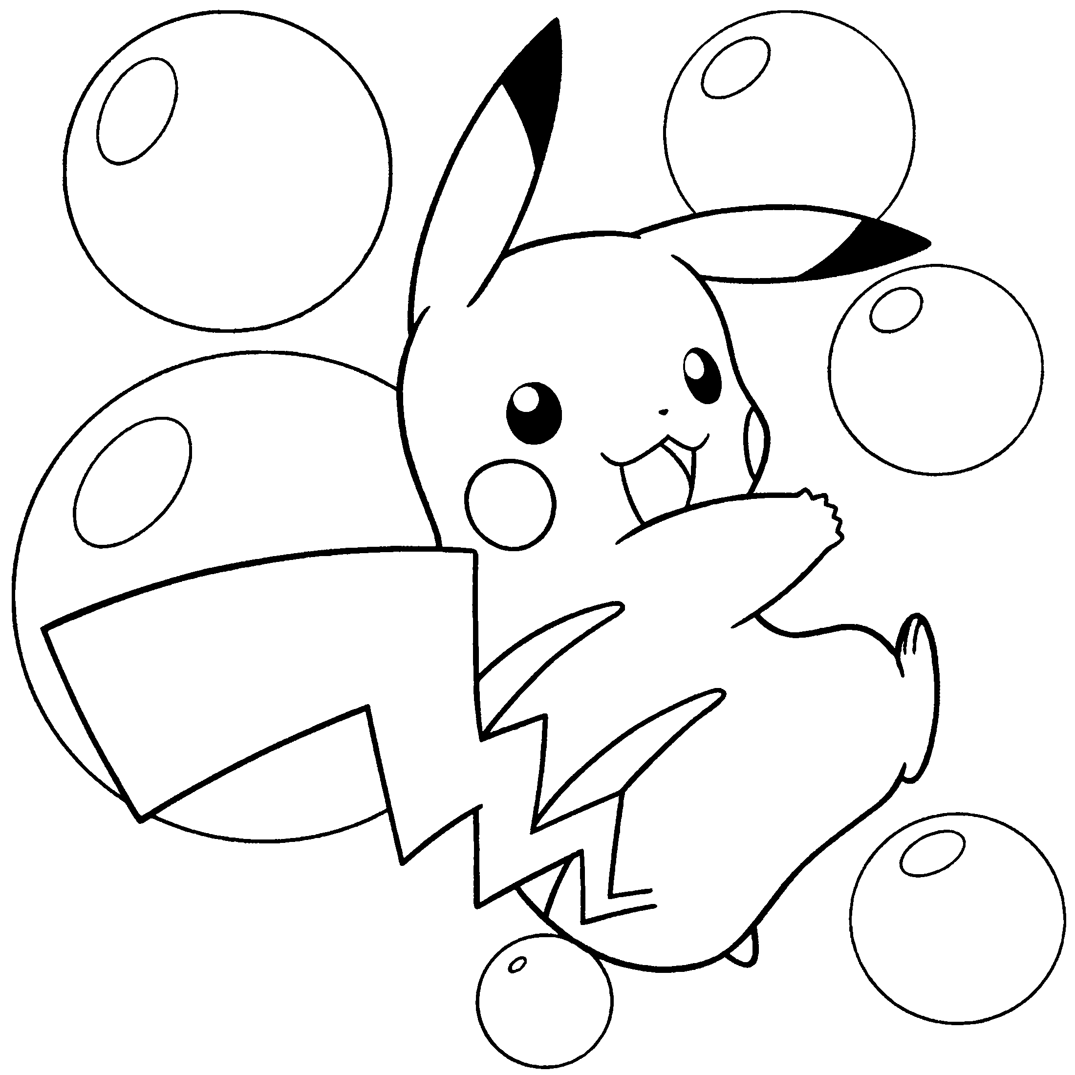 Pokemon Coloring Pages (1) - Coloring Kids