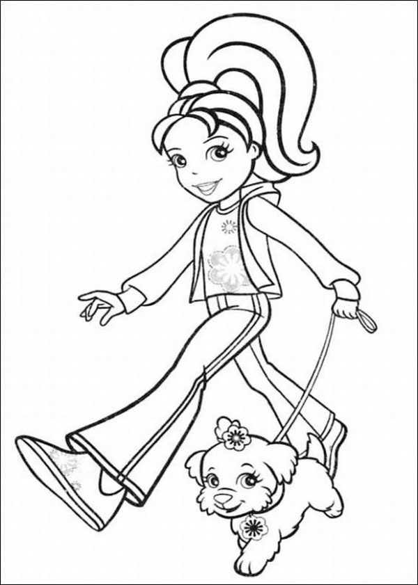 Polly Pocket Coloring Pages (7)