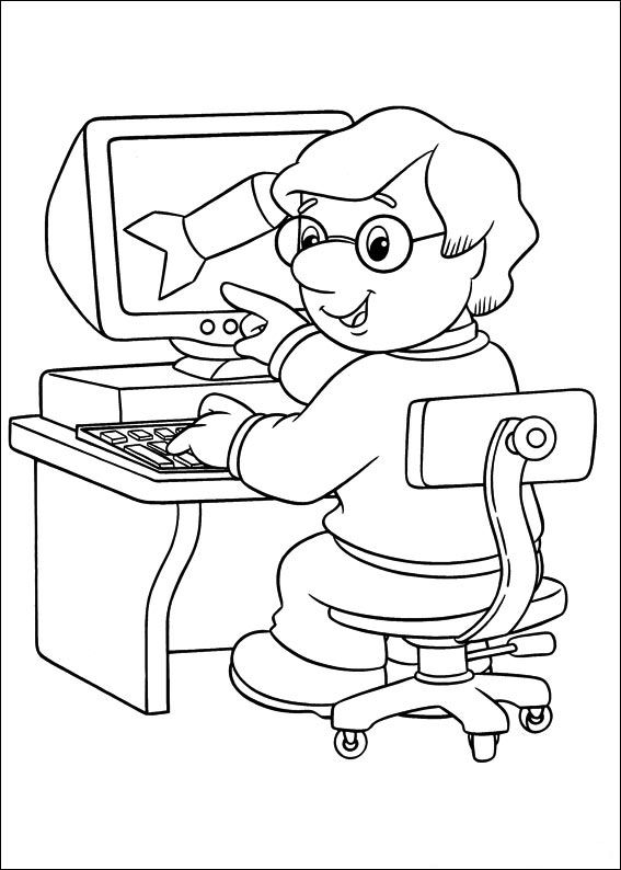 postman pat coloring pages 18 coloring kids. Black Bedroom Furniture Sets. Home Design Ideas