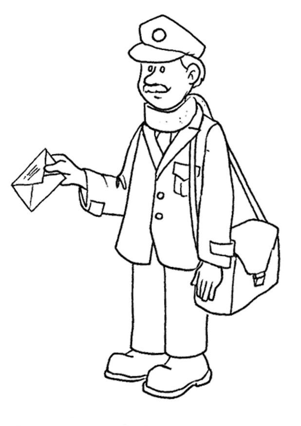 Postman Pat Coloring Pages 3 Coloring Kids