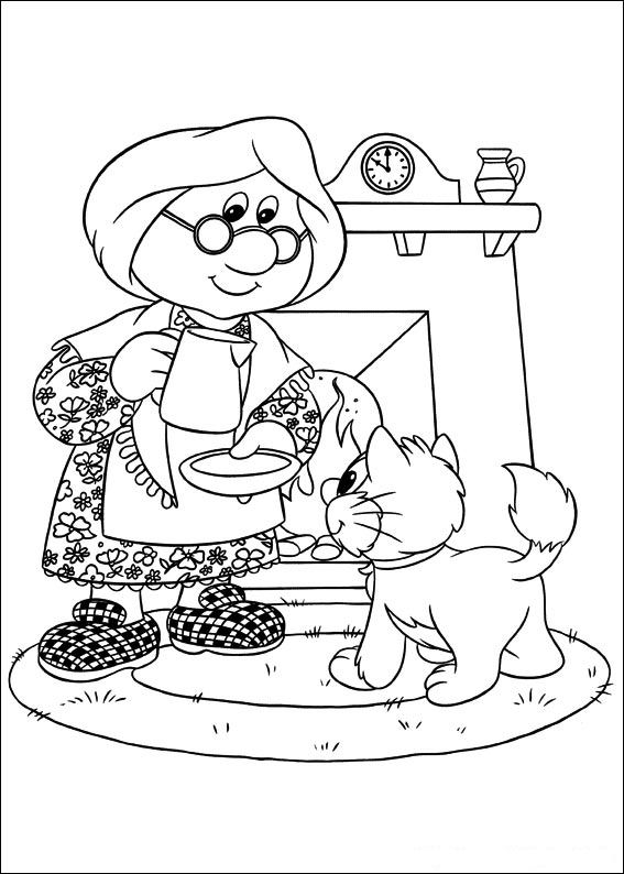 Postman Pat Coloring Pages1 Coloring Kids