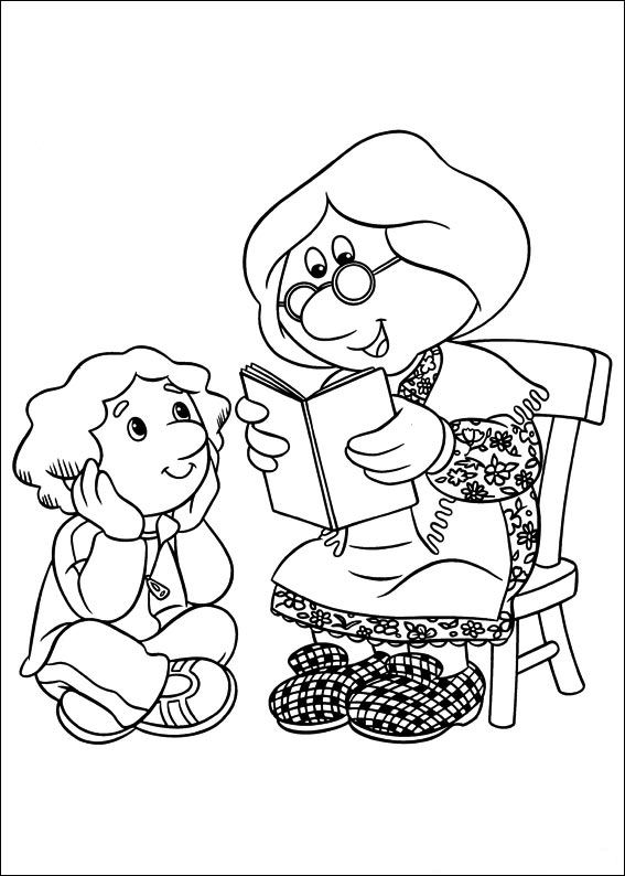 Postman Pat Coloring Pages2 Coloring Kids
