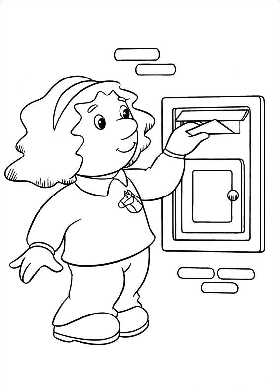 Postman Pat Coloring Pages8 Coloring Kids