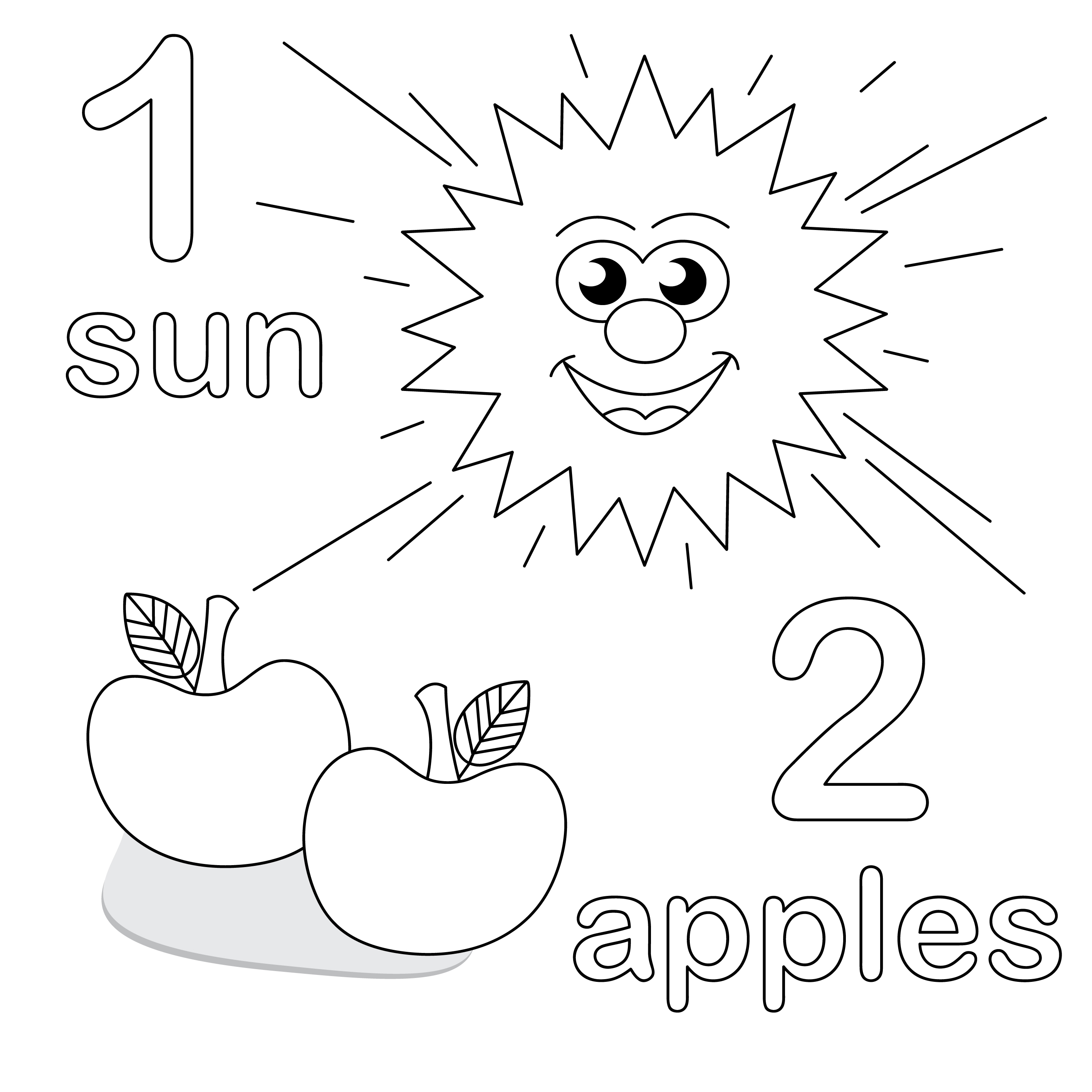 Coloring sheets for preschool - Download Preschool Coloring Pages 1