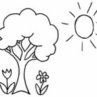 preschool coloring pages 3 140x140 Preschool Coloring Pages