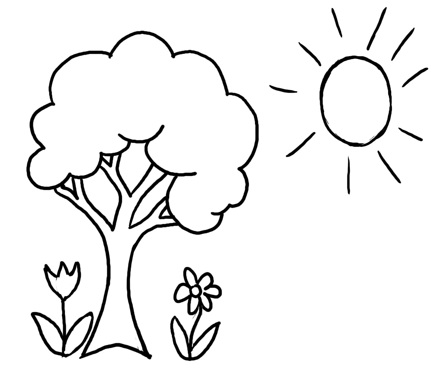 coloring book pages for preschool - photo#13