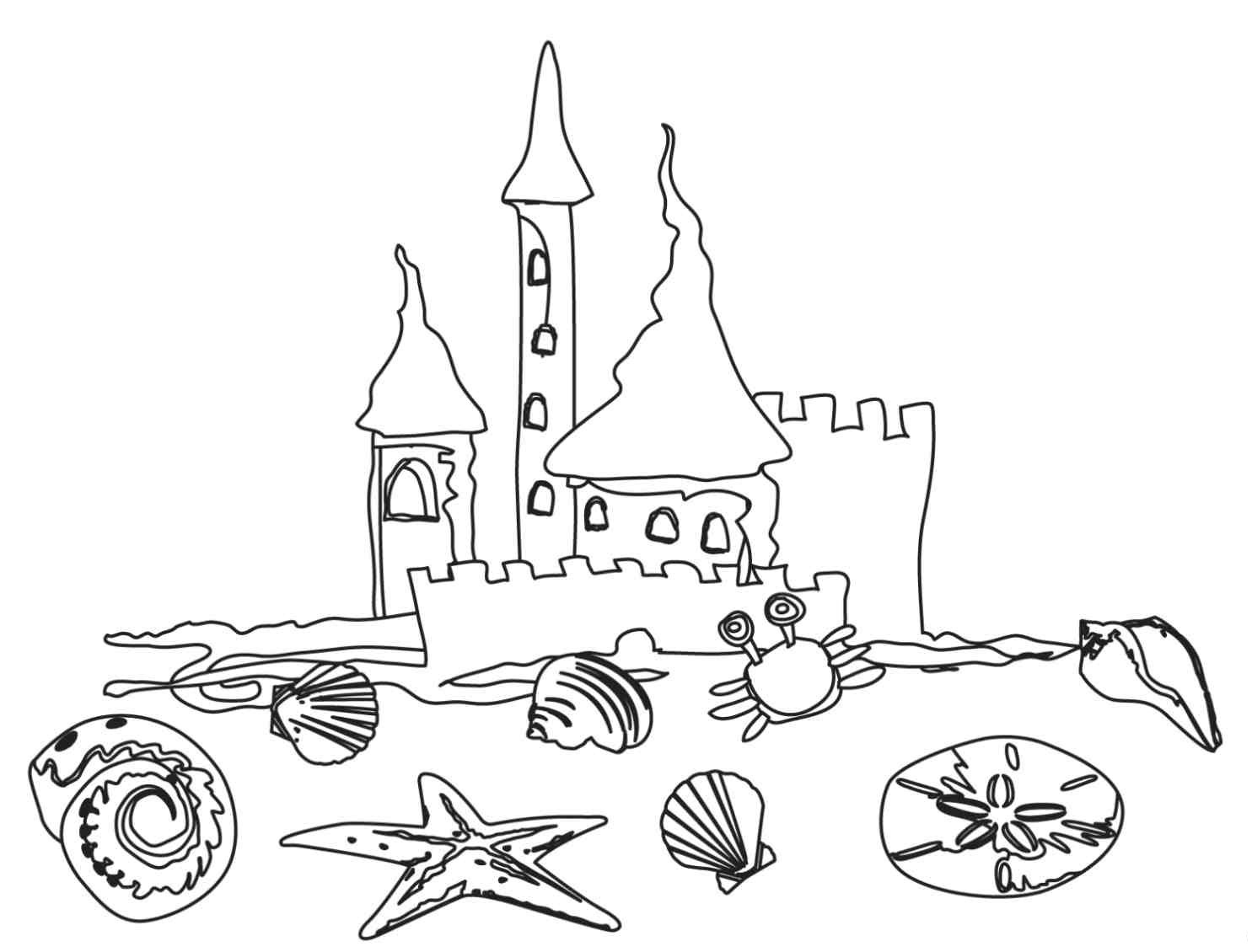 Preschool Coloring Pages 6