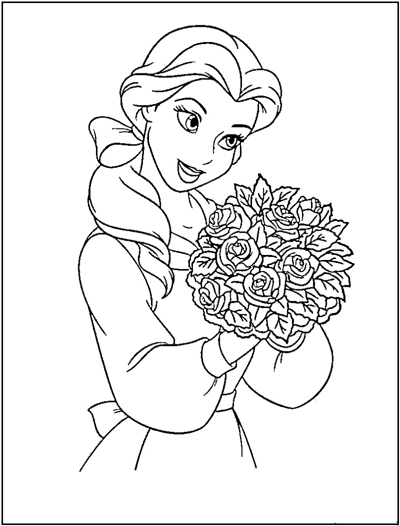 download princess coloring pages 1 - Free Coloring Pages Princess