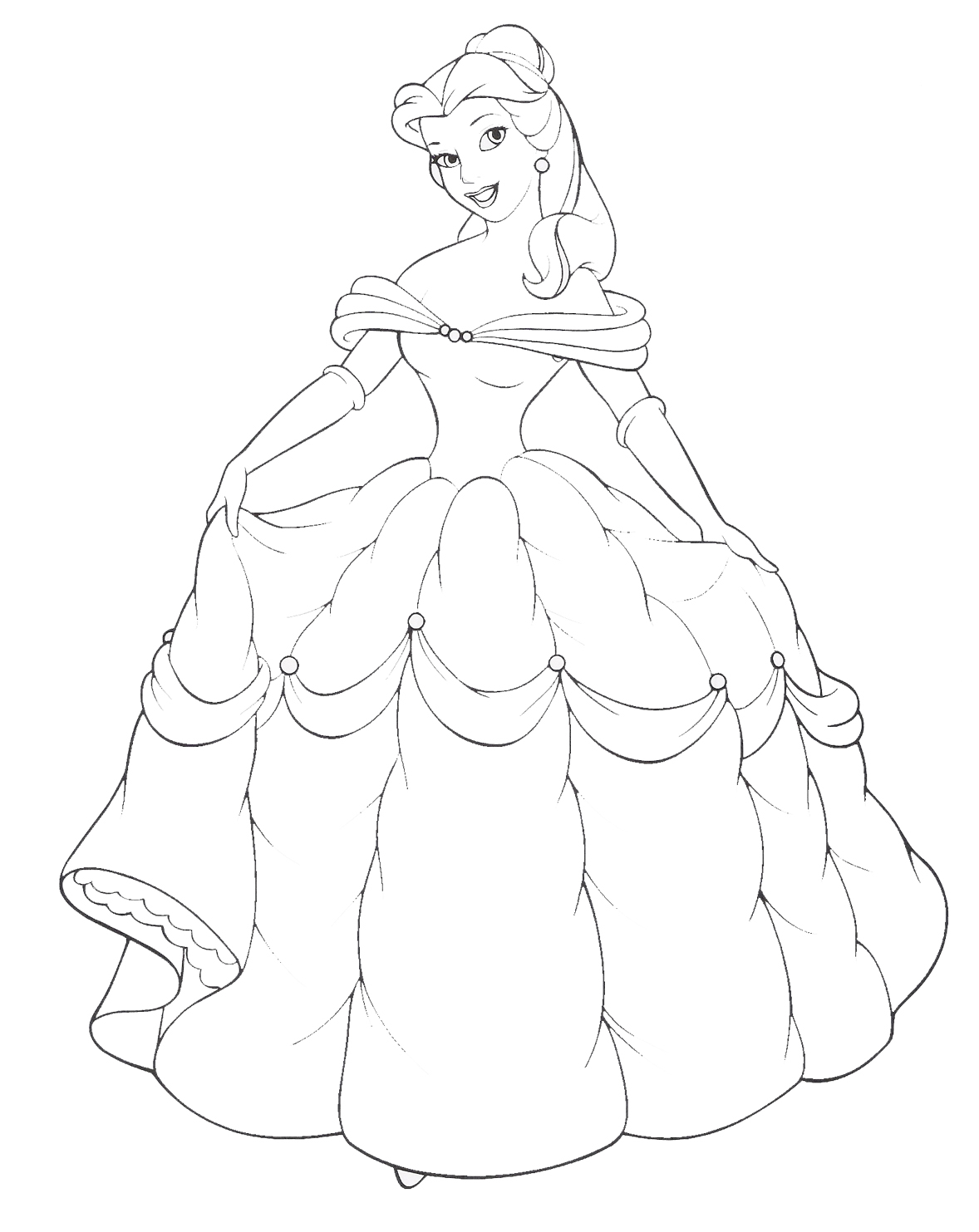 princess coloring pages 10 coloring kids