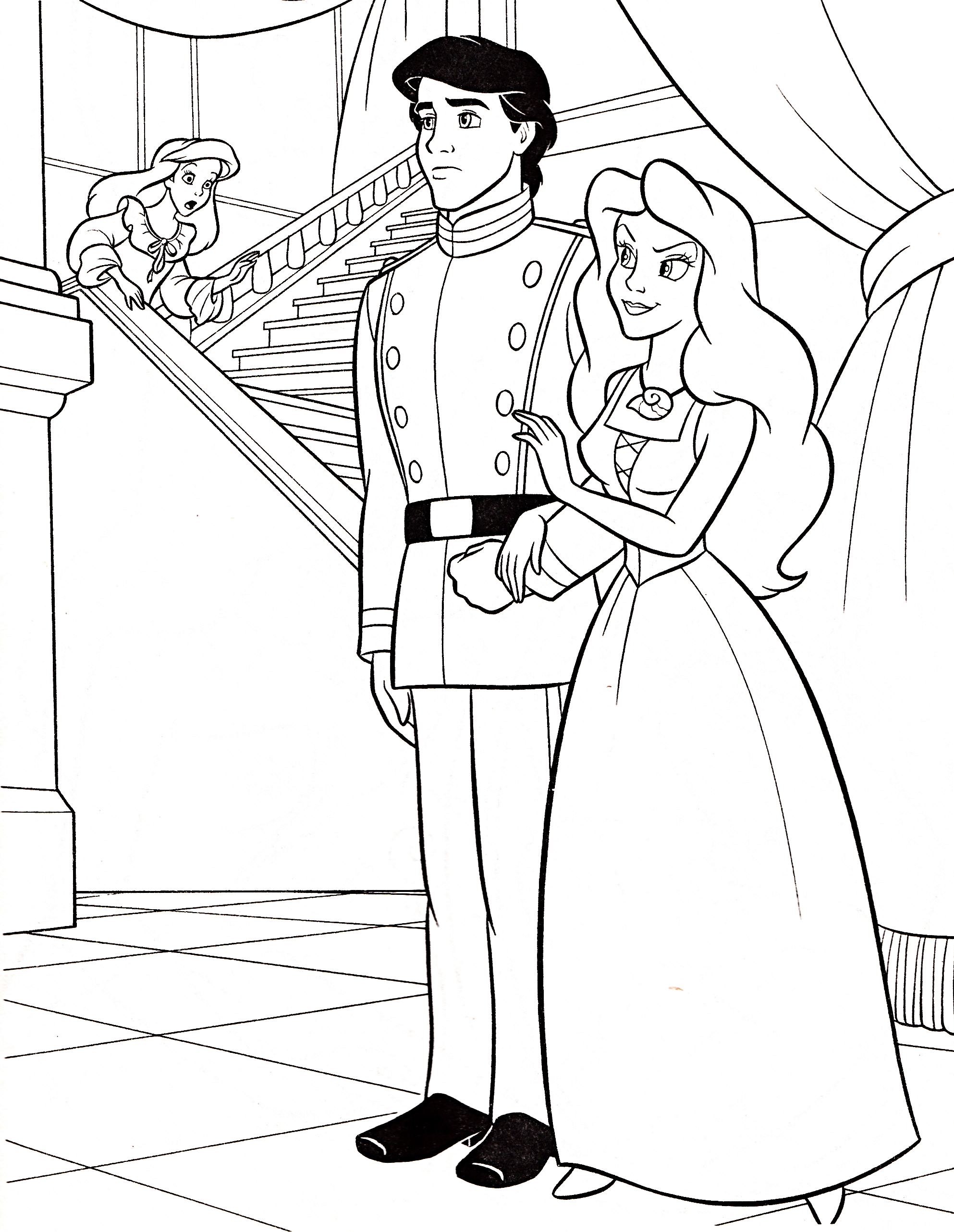 Download Princess Coloring Pages 13