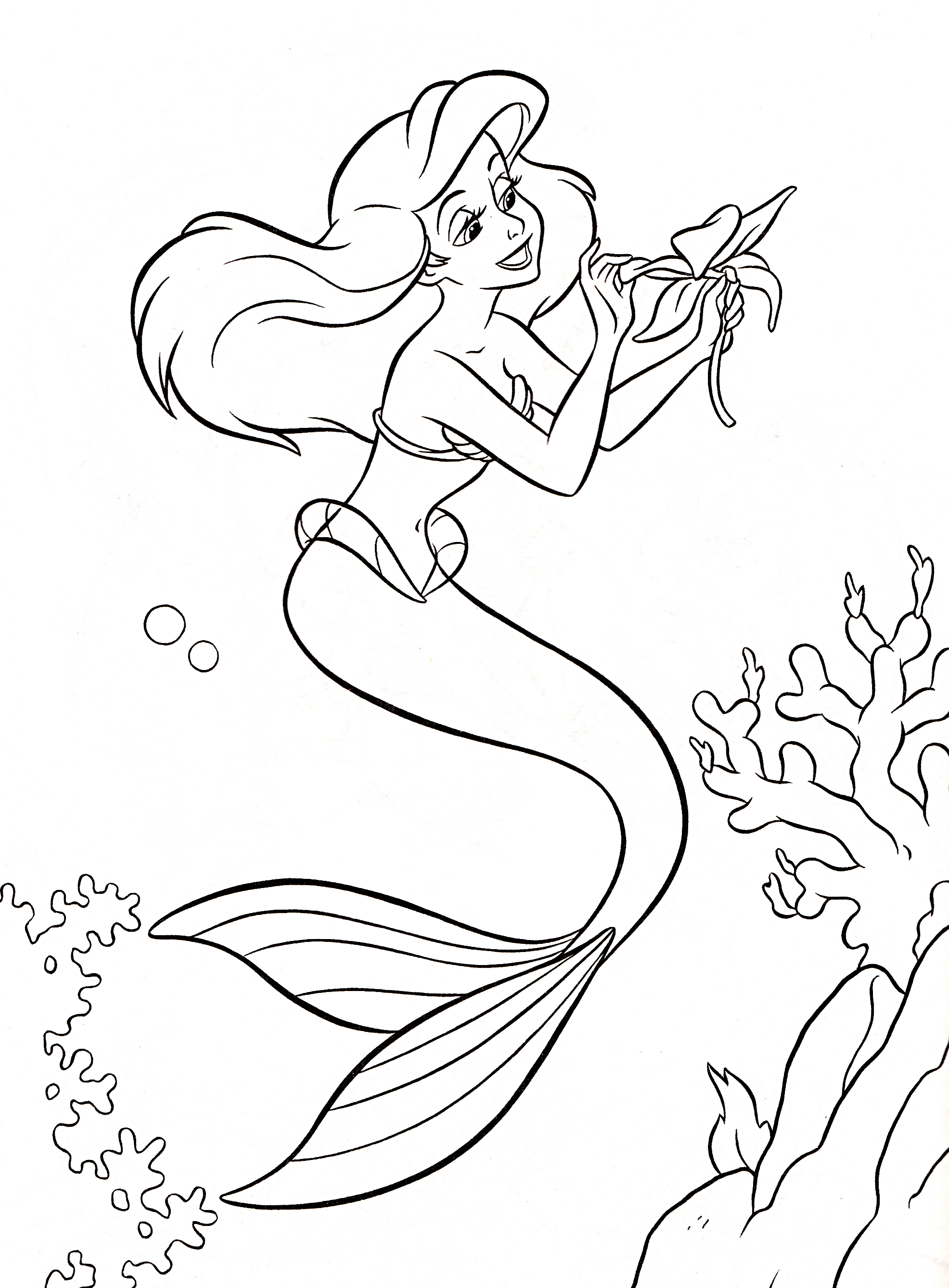 Download Princess Coloring Pages 15 Print