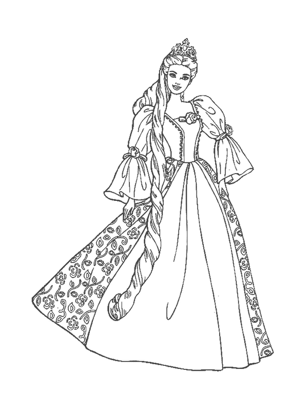 Princess Coloring Pages (2)
