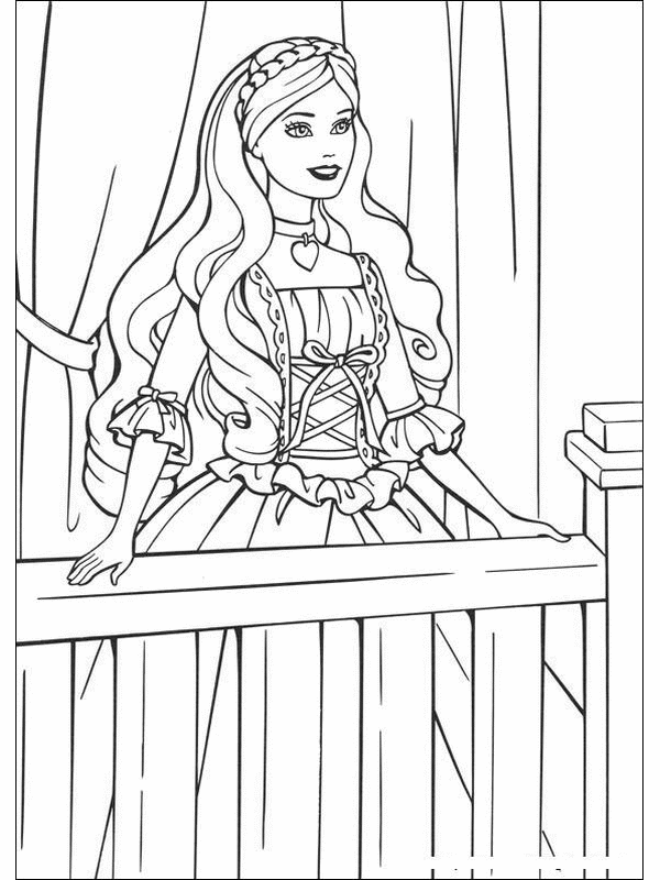 Princess Coloring Pages (3)