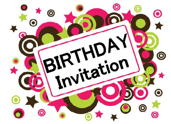 Printable Birthday Invitations (13) - Coloring Kids