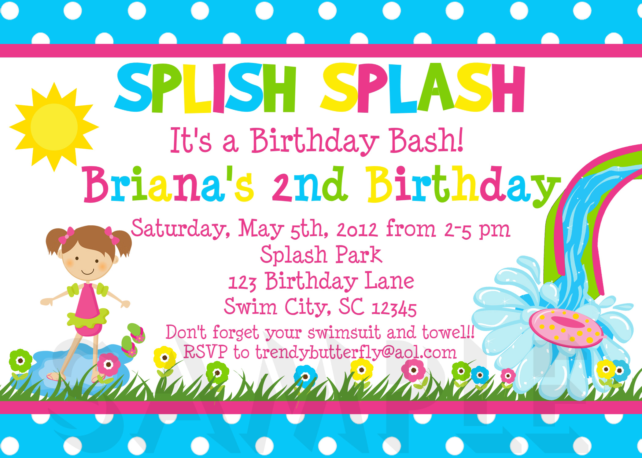 Printable Birthday Invitations (26) - Coloring Kids