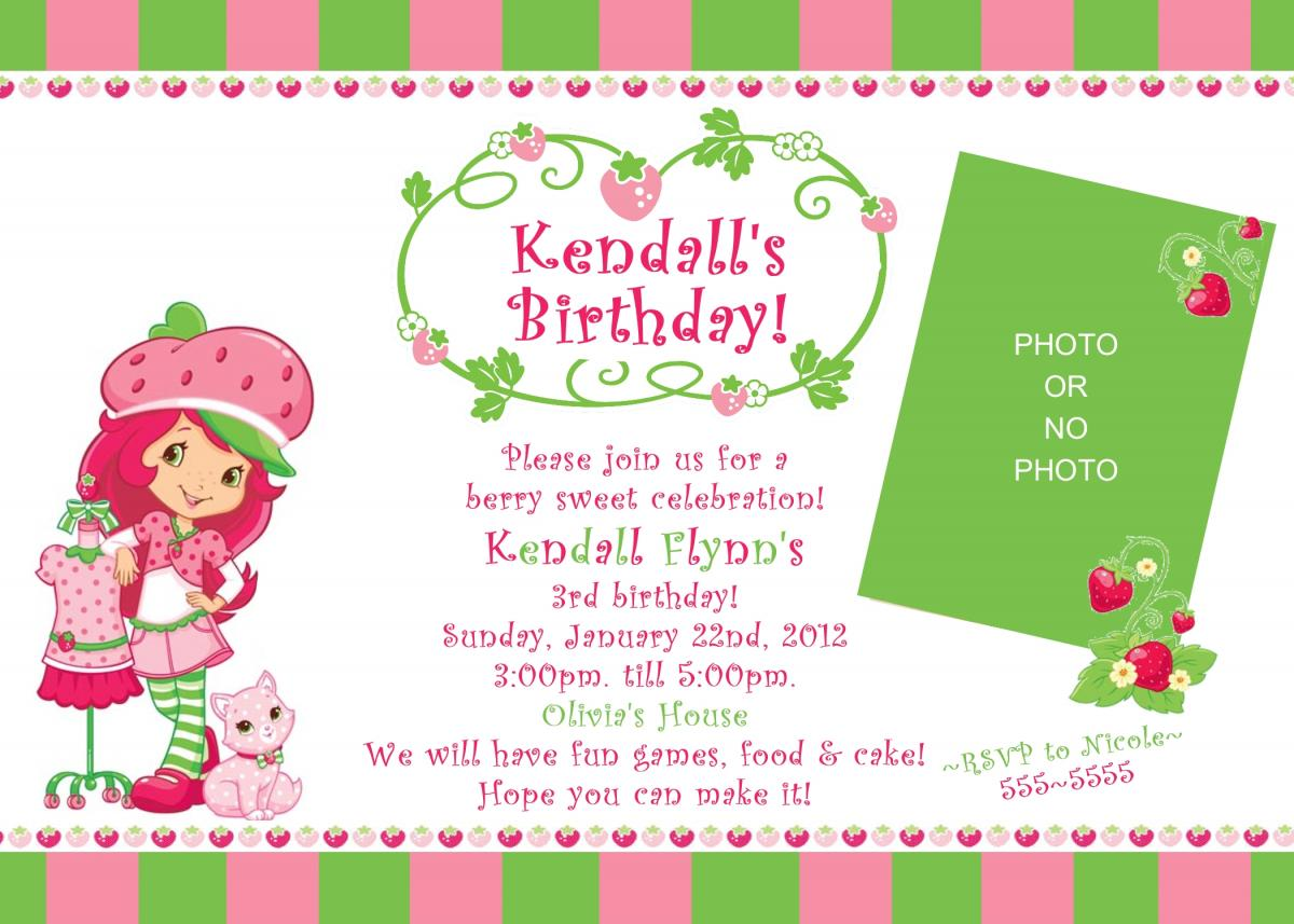 Printable Birthday Invitations (27) | Coloring Kids