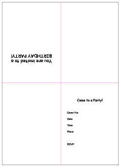 Printable Birthday Invitations (5) | Coloring Kids