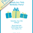 printable birthday invitations 8 140x140 Printable Birthday Invitations