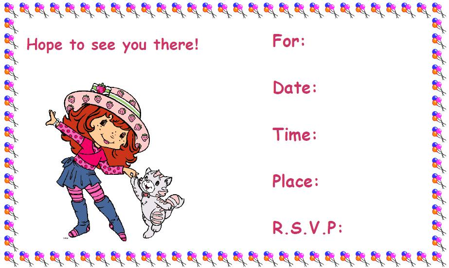 Printable Birthday Invitations 8 Coloring Kids – Kids Birthday Invitations Printable