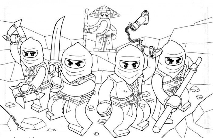 Printable-Lego-Ninjago-Coloringkids.org - Coloring Kids