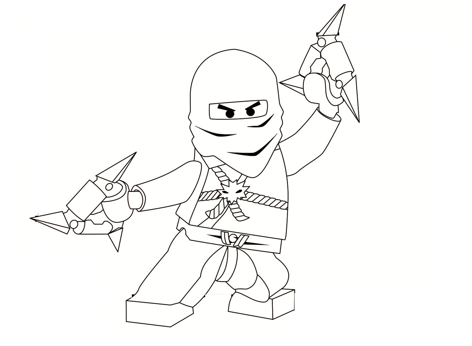 Download Printable Ninjago Coloringkidsorg
