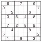 Printable Sudoku Puzzles (3)
