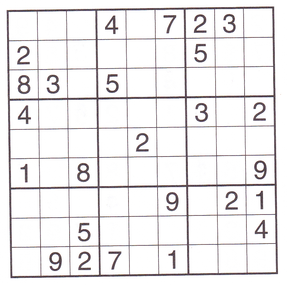 This is a photo of Monster Sudoku Printable Free