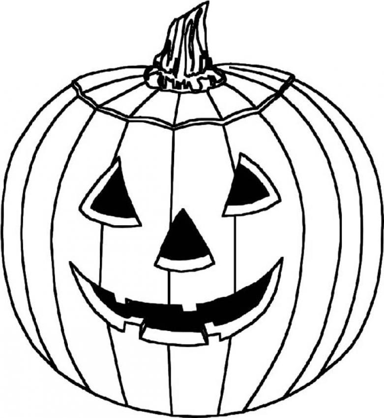 Pumpkin Coloring Pages 5 Coloring Kids
