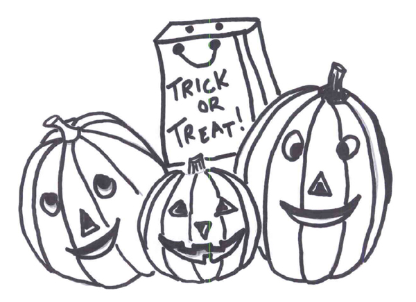Pumpkin Coloring Pages 7 Coloring