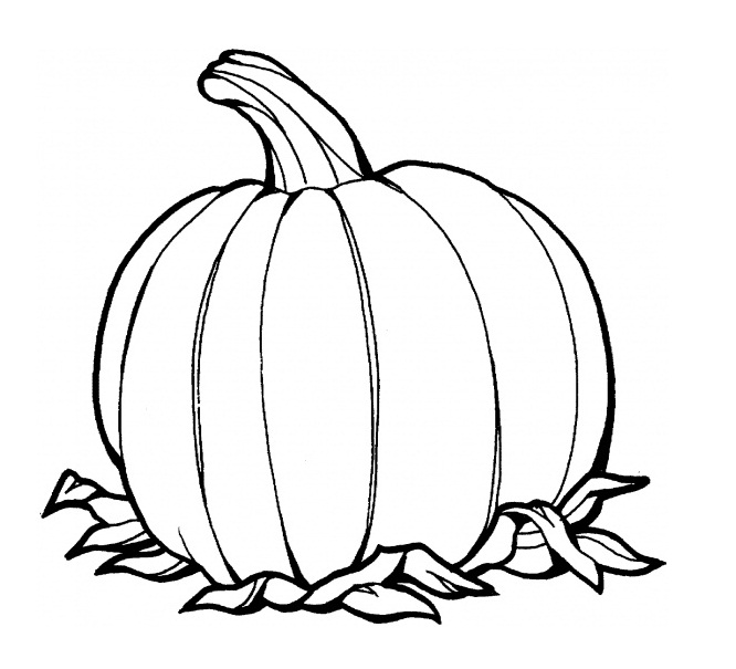 Pumpkin Coloring Pages 9 Coloring