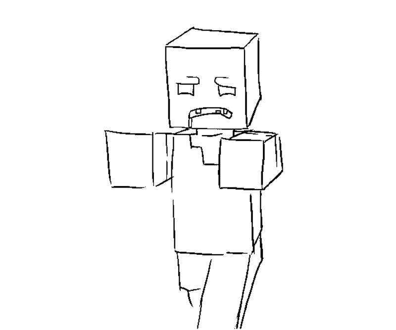 Random Minecraft Coloring Pages Coloring Kids Random Coloring Pages