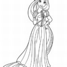 rapunzel coloring pages 11 140x140 Rapunzel Coloring Pages