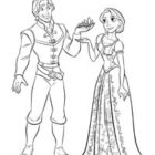 rapunzel coloring pages 14 140x140 Rapunzel Coloring Pages
