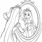rapunzel coloring pages 3 140x140 Rapunzel Coloring Pages